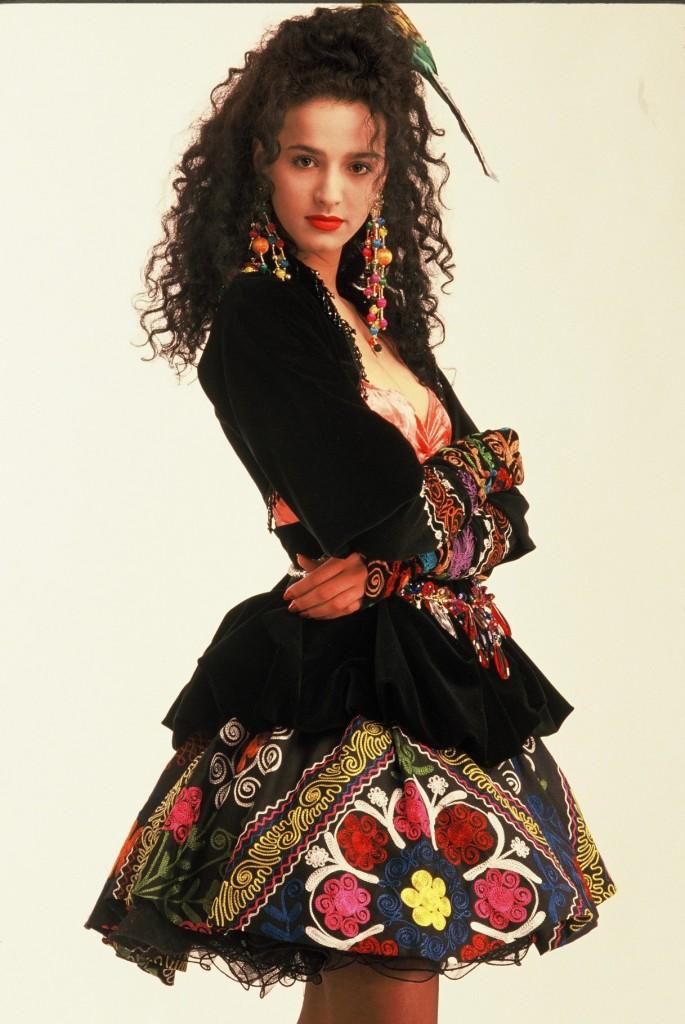 התלבושות המקוריות של אורנה ומשה דץ באירוויזיון 1991   צילום אלדד מאסטרו