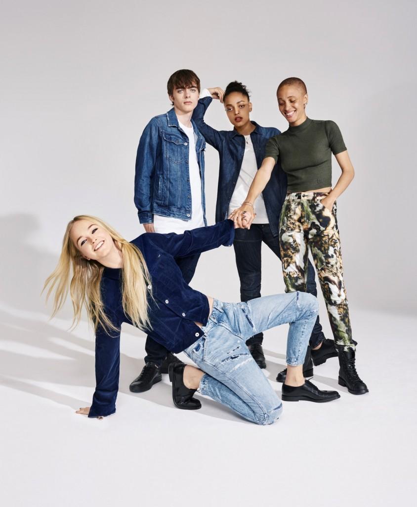 שיתוף פעולה נוסף של האמן והיוצר, פארל וויליאמס למותג הג'ינסים G STAR  | צילום: יח''צ חו''ל