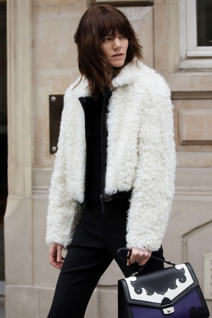 סדרת פריז רוק כבשה גם אותנו | מותג התיקים היוקרתי LONGCHAMP לחורף '18 | צילום: יח''צ חו''ל