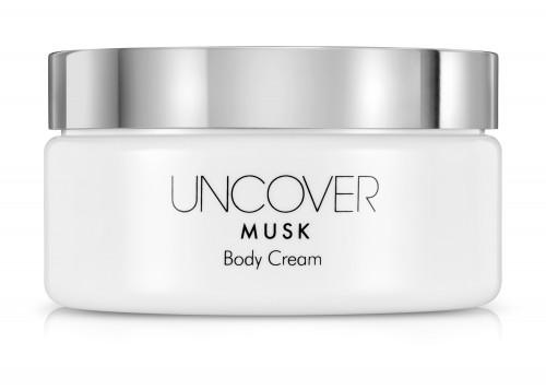 UNCOVER MUSK קרם גוף מבושם מבית קרליין מחיר 69.90 שח צילום מוטי פישביין