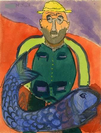 מתוך האוסף של האמן יולו לוין