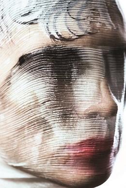 נקודת השקה של אמנות ואיפור / איפור: ירין שחף, צילום:  הילה אלקיים
