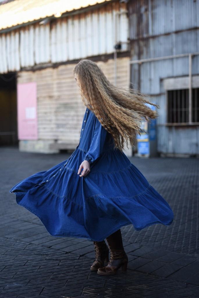 קולקציה שעוצבה מתוך זכרון ילדות | צילום: מאיר כהן