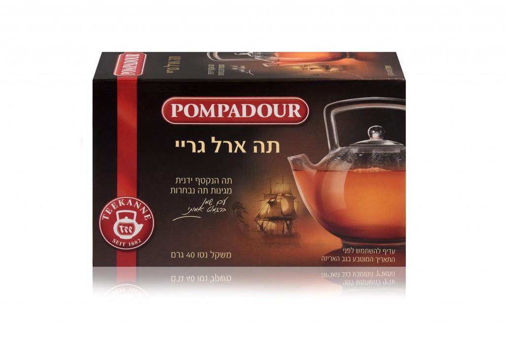 תה שחור פומפדור - סדרת הזהב. בטעם ארל גריי