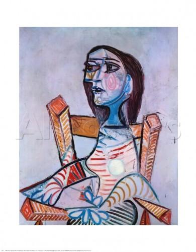 Pablo Picasso portrait of a woman
