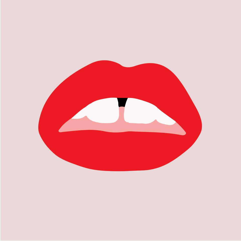 אחד מסימני הזיהוי של המותג, 'שפתים אדומות' בדיוק כמו לויתן