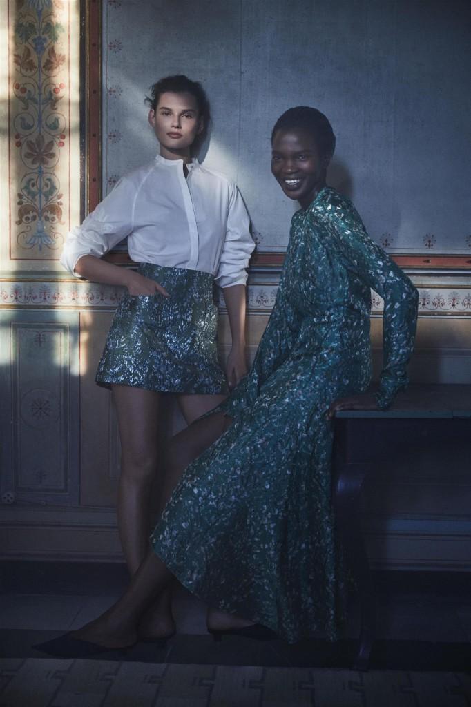 אקססוריז מפמוטים ממוחזרים / H&M קונצ'ס אקסלוסיב / צילום: הנס מוריץ