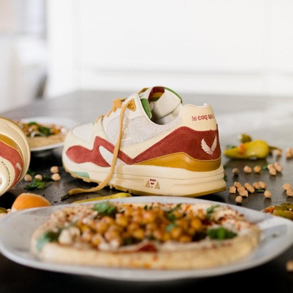 חומוס אורגני ללא חומרים משמרים / SneakerBox & le Coq Sportif / צילום: לה קוק ספורטיף