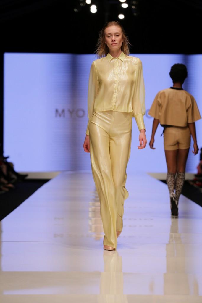 אביתר מייאור ל-STUDIO MYOR | שבוע האופנה תל אביב 2018 | צילום: אבי ולדמן