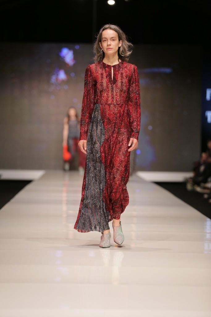 דורין פרנקפורט  | שבוע האופנה תל אביב 2018 | צילום: אבי ולדמן
