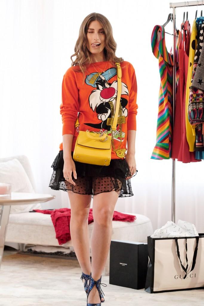 אפשר את הסווטשיט| דנה זדמון לאתר האופנה MINE | צילום: עמית שסטוביץ