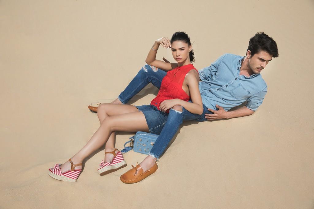 גם בנים חזרו למודה / מתוך קמפיין אביב קיץ 2018 רשת נעלי סקופ / צילום: שי יחזקאל