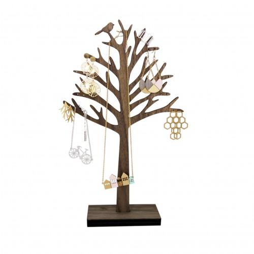 שלומית אופיר מתקן לתכשיטים ציפור על עץ 130 שח צילום שלומית אופיר