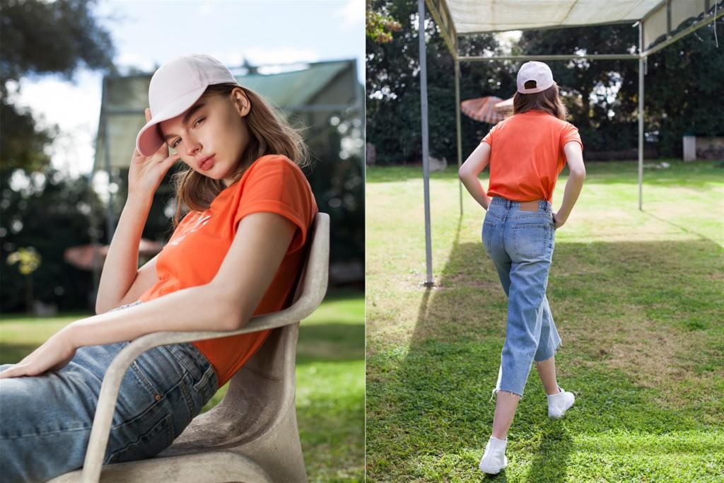 טי-שירט וג'ינס זה הלוק של הקיץ | BELLE & SUE | צילום: מרב בן-לולו