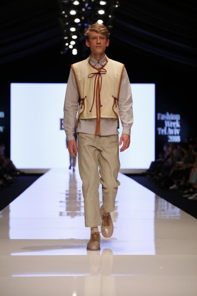 ערן שני למותג ERRANT  לחממת המעצבים של מפעל הפיס | שבוע האופנה תל אביב 2018 | צילום: אבי ולדמן