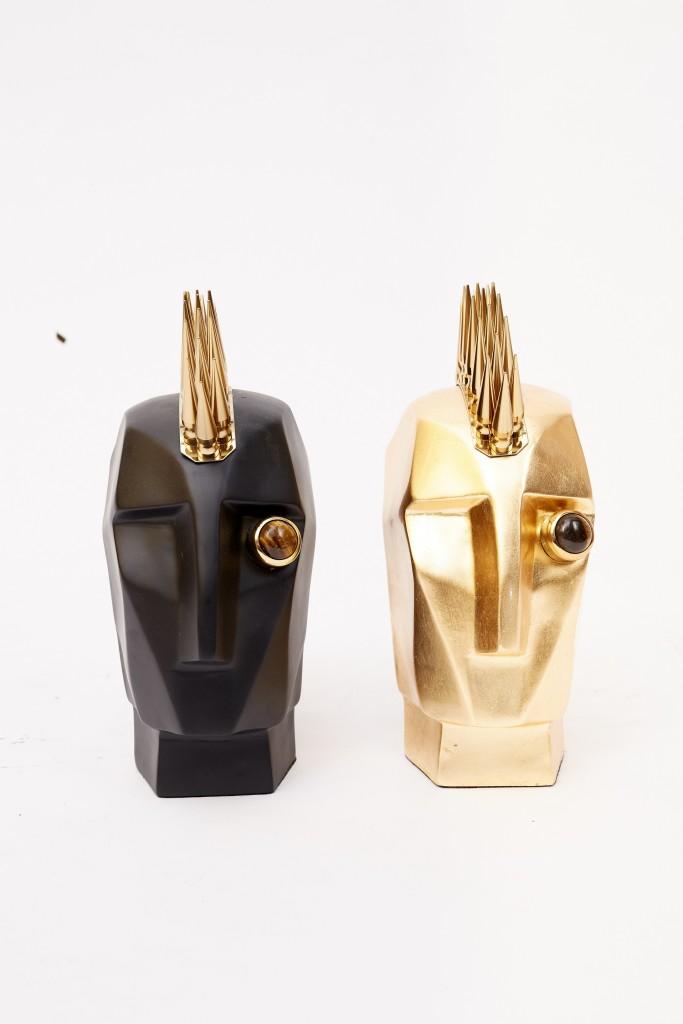 שילוב של זהב ושחור זה תמיד טוב לעין | Arketa concept store | צילום: יח''צ