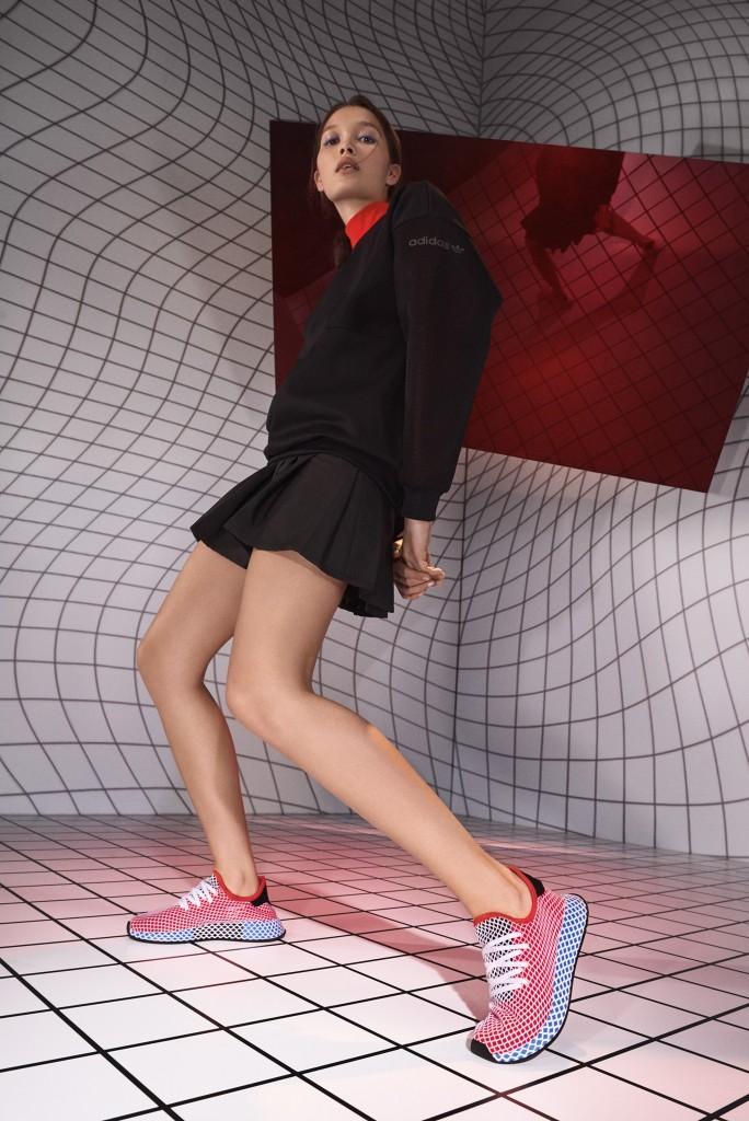 נעלי הוינט'ג מקבלים פרשנות עכשווית | נעלי DEERUT אדידס | צילום: יח''צ חול