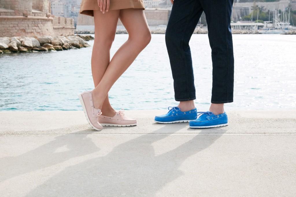 """נעליים חדשניות שיש להן ביצועים גבוהים וסטייל עתידי. טימברלנד פיתחה קטגוריית נעליים עם טכנולוגיה מהפכנית שיש בה ראיה לעתיד. בנעליים אלו הטמיעו טכנולוגיה חדשנית פורצת דרך בשם ERO CORE המתמקדת בהפחתת המשקל ובגמישות של הנעל. / טימברלנד קיץ 2018 / מחיר 499ש""""ח"""