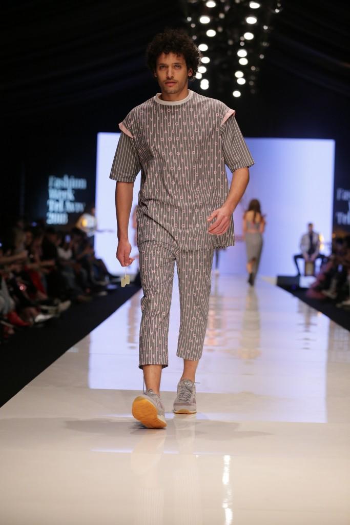 תצוגת האופנה של 'נובוריש דוג' בשבוע האופנה האחרון | צילום: אבי ולדמן