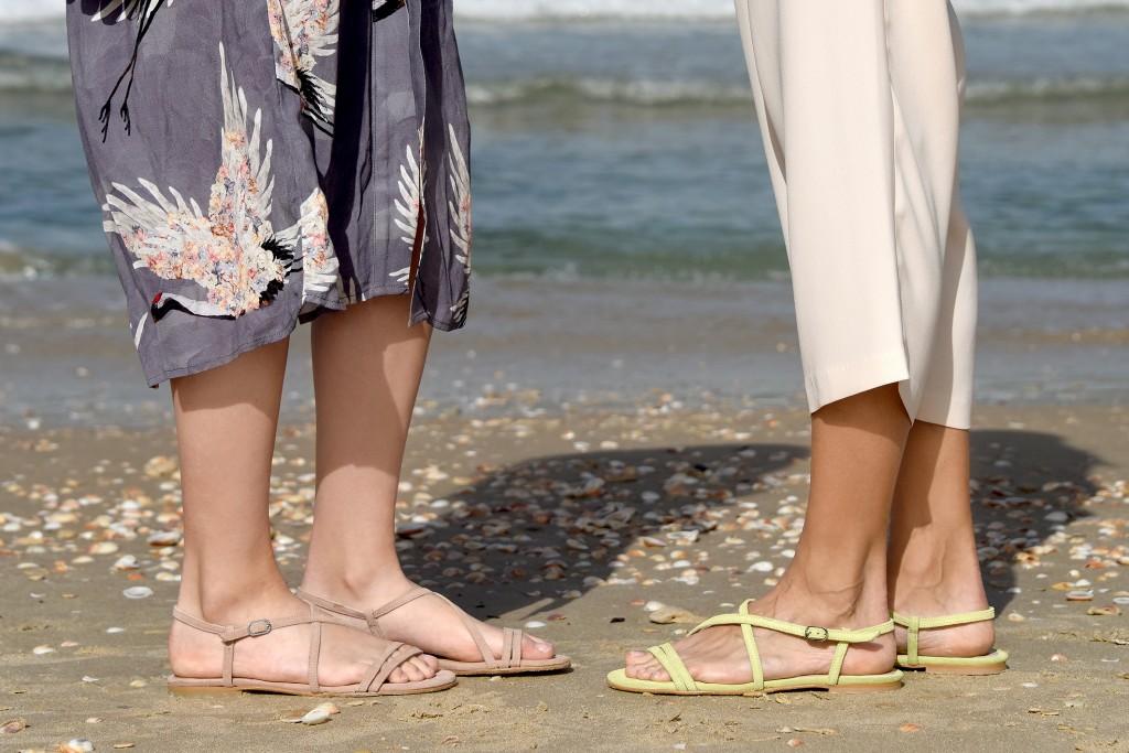 עיצוב מדויק ונקי | קולקציית קיץ של מותג הנעליים AMRIA | צילום: יח''צ