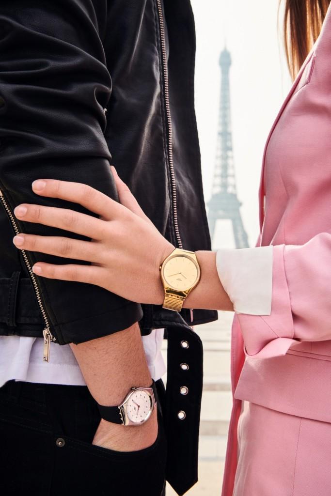 כל כך קל שלא תרגישו שיש לכם שעון על היד קולקציית השעונים החדשה של סווטש | צילום: יח''צ חו''ל