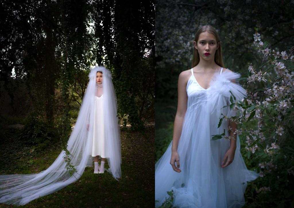 קולקציה על זמנית לכן זכתה לשם UNIQUE brides | קולקציית הכלות של שחר אבנט | צילום: מיכל חלבין