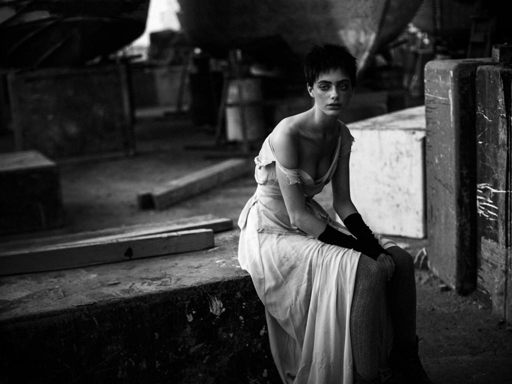 עלובי החיים - מתוך תערוכת הצילומים של רנואר   רונקו ומאשה   צילום: אלון שפרנסקי