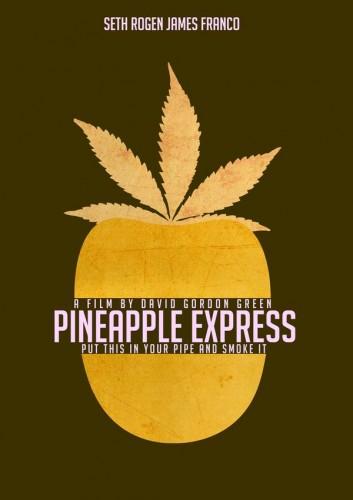 אחד ממגוון הפוסטרים של הסרט Pineapple Express