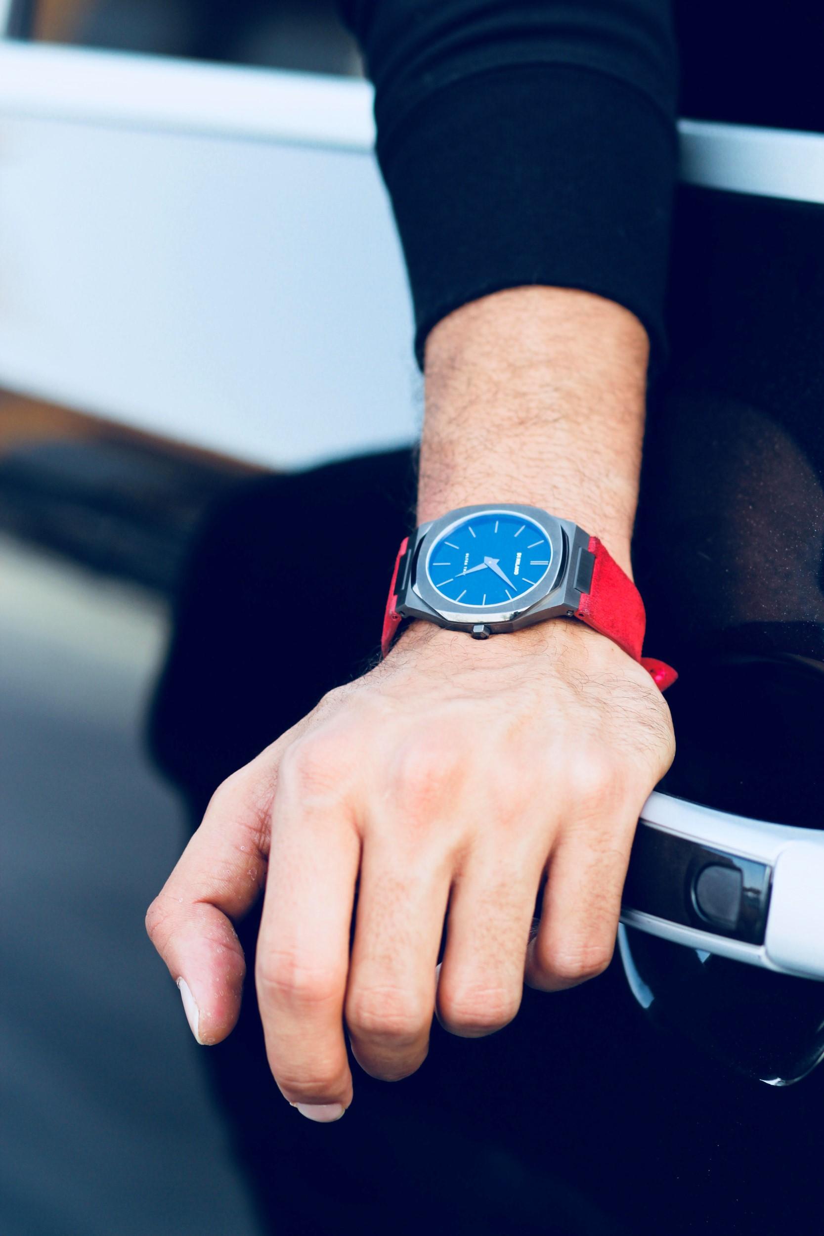 הערכת הזמן של מותג השעונים האיטלקי D1 MILANO