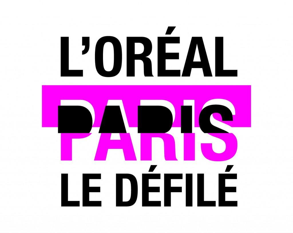 LOGO LE DEFILE L'OREAL PARIS / לוגו שבוע האופנה בפאריז