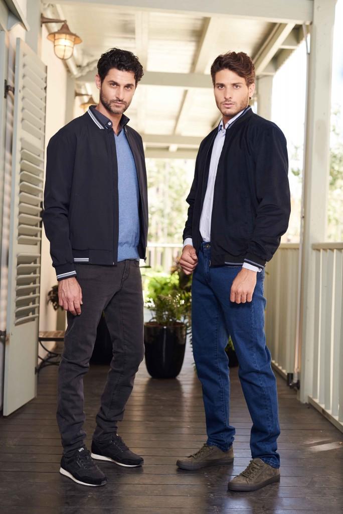 המכנסיים העונה מגיעות בגזרת סלים וקלאסי, בעלי דפוס המשלב דוגמה מעוצבת שיוצרת מראה חדש ואלגנטי / צילום: שי קדם