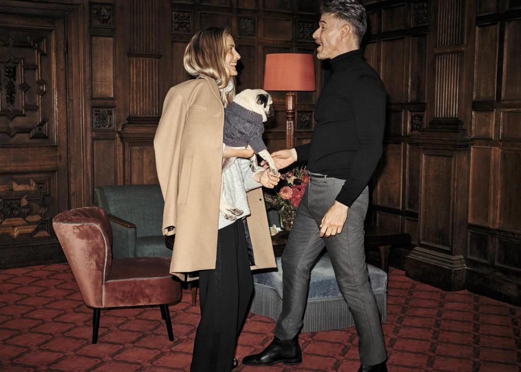 בגדי הגברים מציעים מראה מלוטש ונקי בגזרה צרה ומחמיאה / / H&M HOLIDAY צילום: הנס מוריץ
