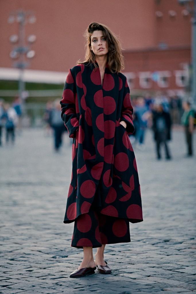 אחת החטיבות המרכזיות בקולקציה, השמלה  | אלמביקה חורף 18-10 | גורן-ליובונציץ.