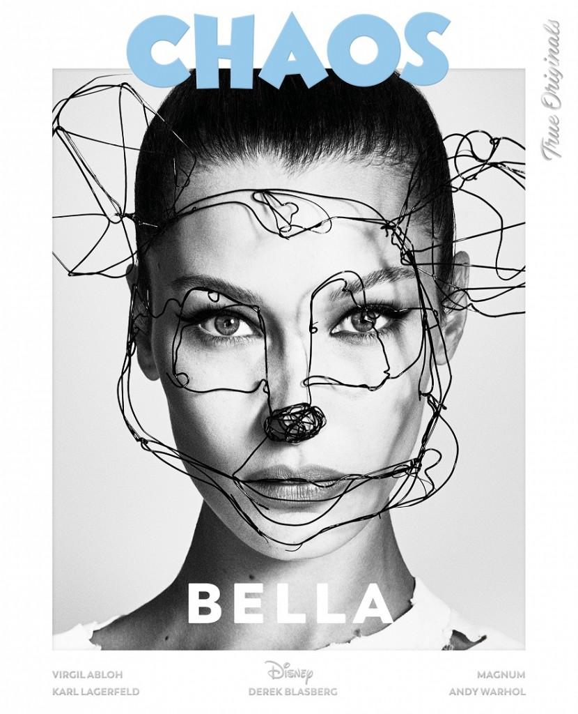Model - Bella Hadid   Photographers – LuigiandIango   Fashion - B Akerlund   Hair – Luigi Murenu   Make up - ErinParsons