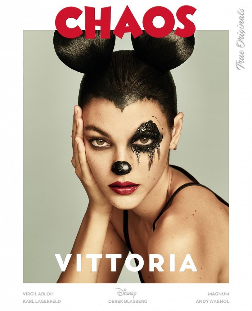 Model - Vittoria Ceretti   Photographers – LuigiandIango   Fashion - B Akerlund   Hair – Luigi Murenu   Make up – Erin Parsons