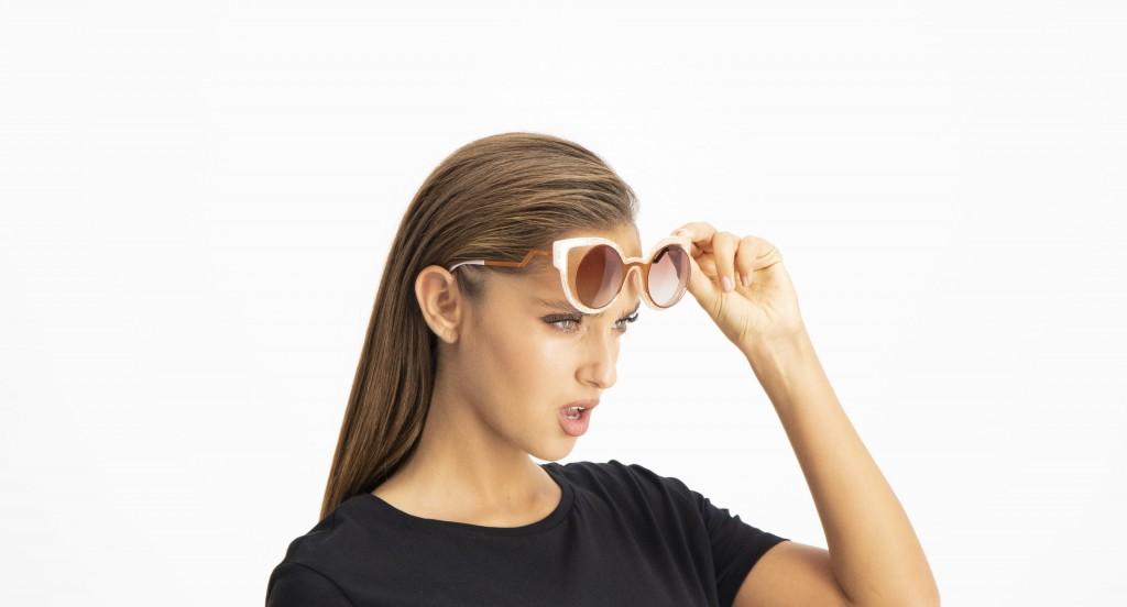 משקפי שמש מלאות זוהר וגלאם