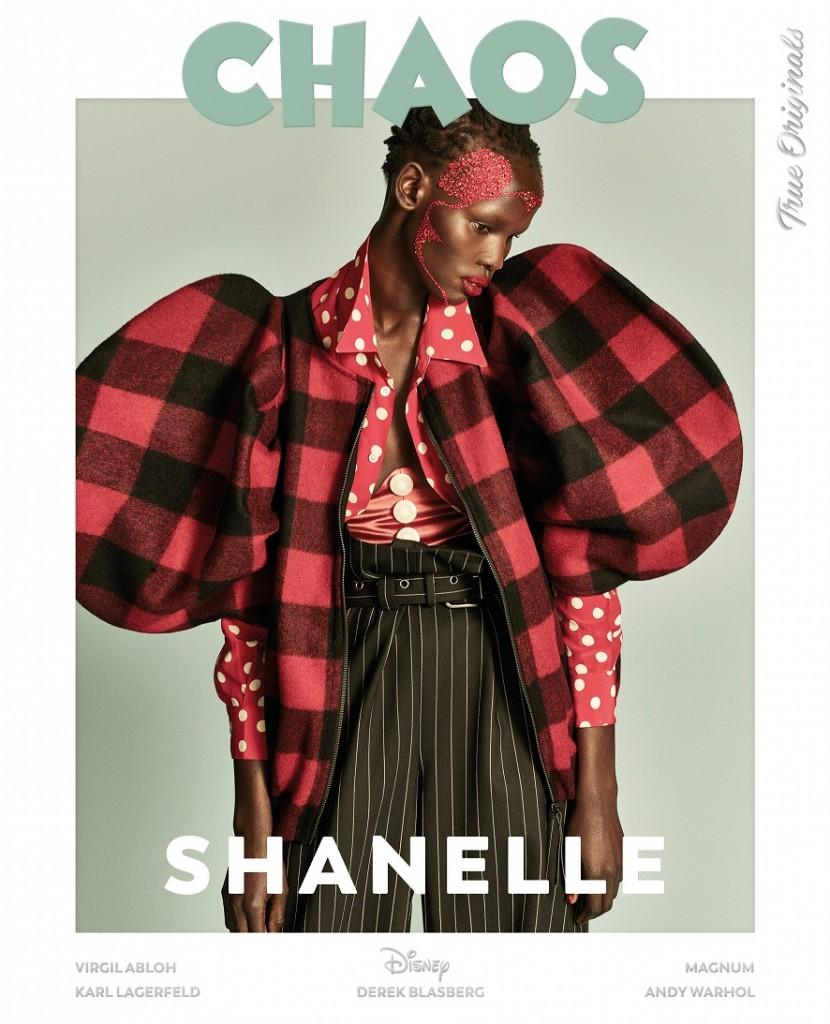 Model - Shanelle Nyasiase  Photographers – LuigiandIango   Fashion - B Akerlund   Hair – Luigi Murenu   Make up – Erin Parsons