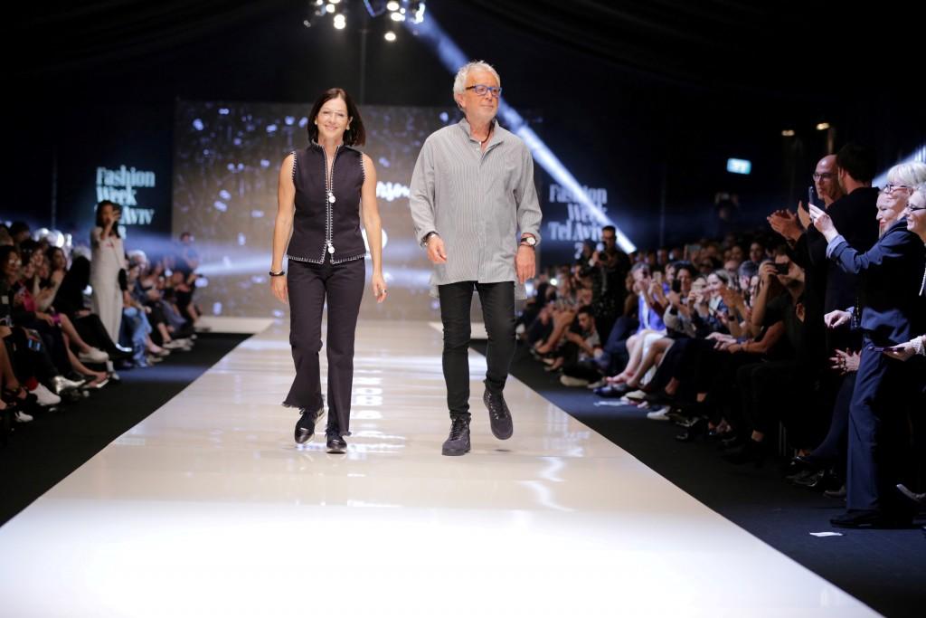גדעון וקארן אוברזון יציגו במסגרת שבוע האופנה הקרוב תצוגת בקונספט מיוחד כמעין מסיבת פרידה   צילום: אבי ולדמן