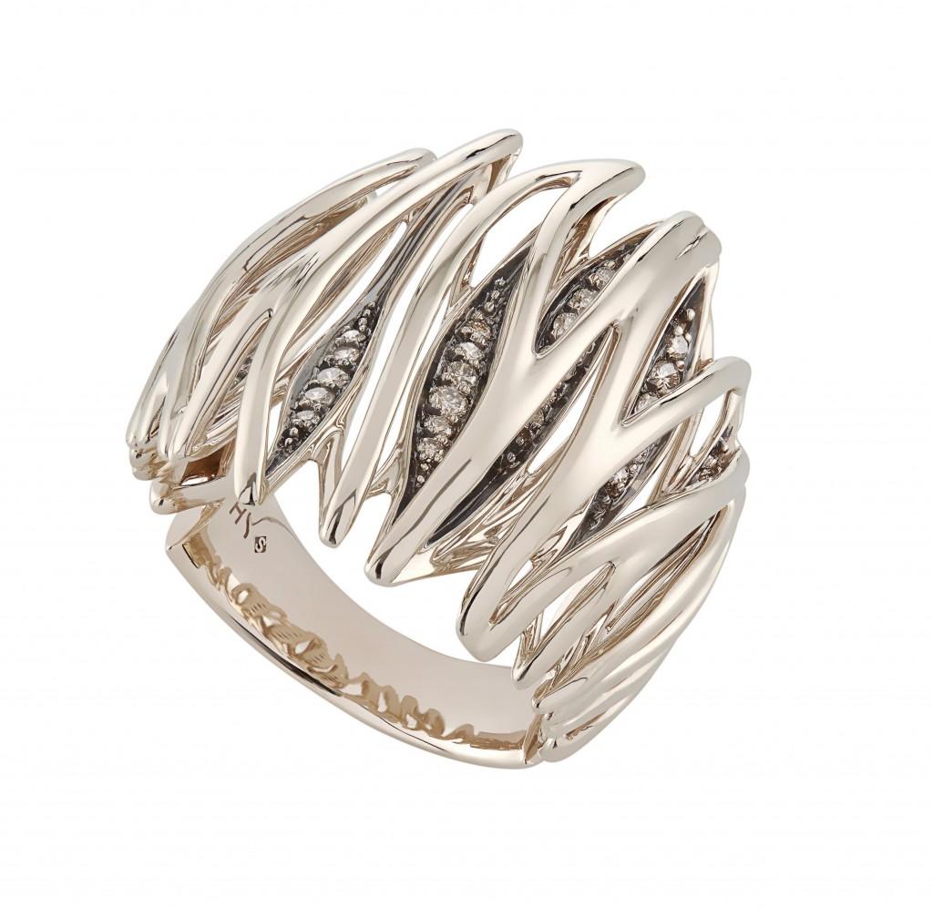 טבעת שנוצרה בהשראתו של קטע המחול   צילום: יח''צ