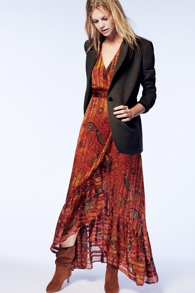 המותג Ba&sH מתמחה בשמלות נשיות פשוט לקחת וללבוש   צילום: יח''צ