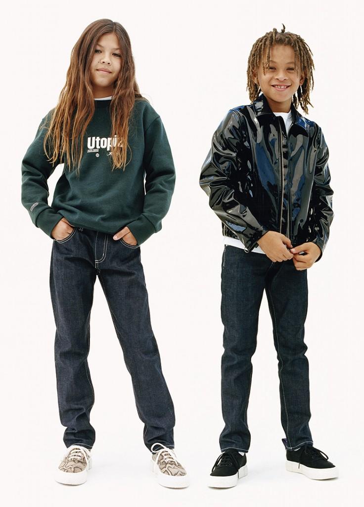 יש גם לילדים   שיתוף הפעולה Eytys x H&M   צילום: הנס מוריץ
