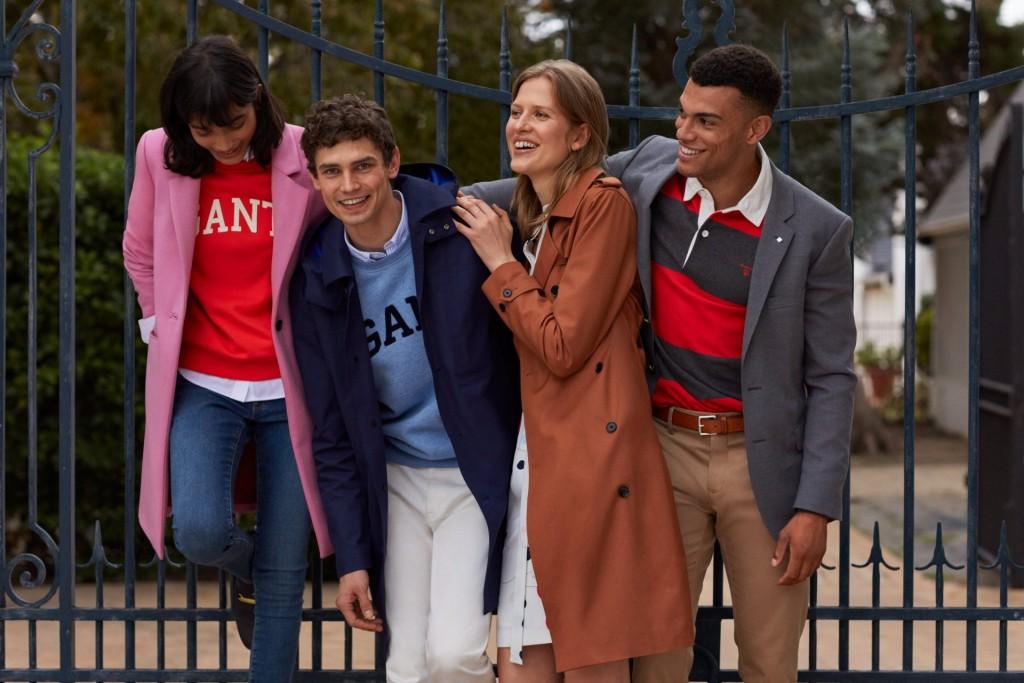 הקולקציה כוללת כמה מהקטגוריות המוכרות והאהובות ביותר של  GANTהחוזרות בקולקציה הנוכחית בלוק עכשווי מתמיד עם פריטים סרוגים, מעילים, מכנסיים, בדי ג'רזי, חולצות מחויטות, אביזרים, הלבשה תחתונה וכמובן פריטים חדשים ומסעירים מקולקציית GANT HOME.