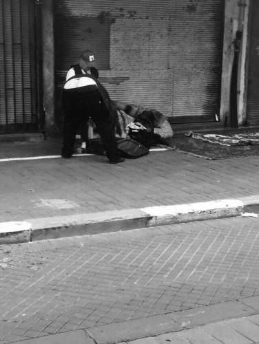 חסר בית | צילום: דוריאן גריי