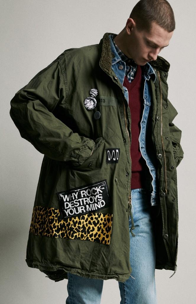 תארזו לי אותו, לא צריך אריזה אני אלבש אותו ישר   מעיל פארקה של המותג R13   צילום: יח''צ