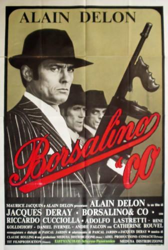 כרזת הסרט borsalino בכיכובו של אלן דלון