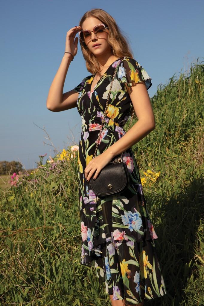 אסתי גינזבורג לקמפיין קיץ 2019 של גולברי / צילום: יניב אדרי