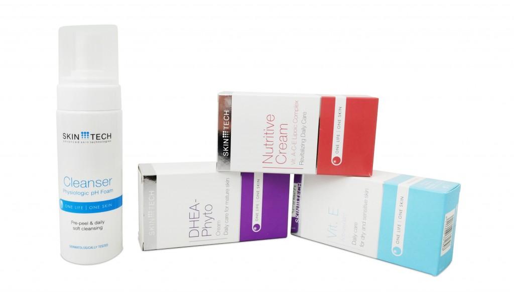 Skintech - סקין טק - סדרת קרמים מקצועיים / צילום: שאטרסטוק