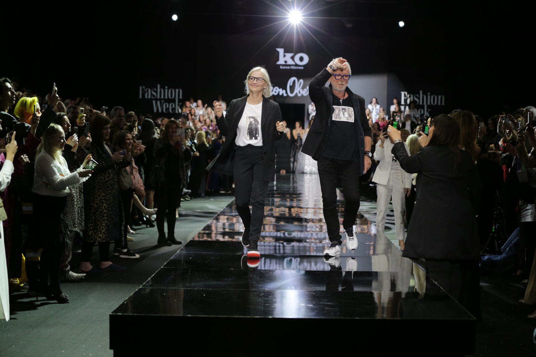 גדעון אוברזון   שבוע באופנה   פרידה